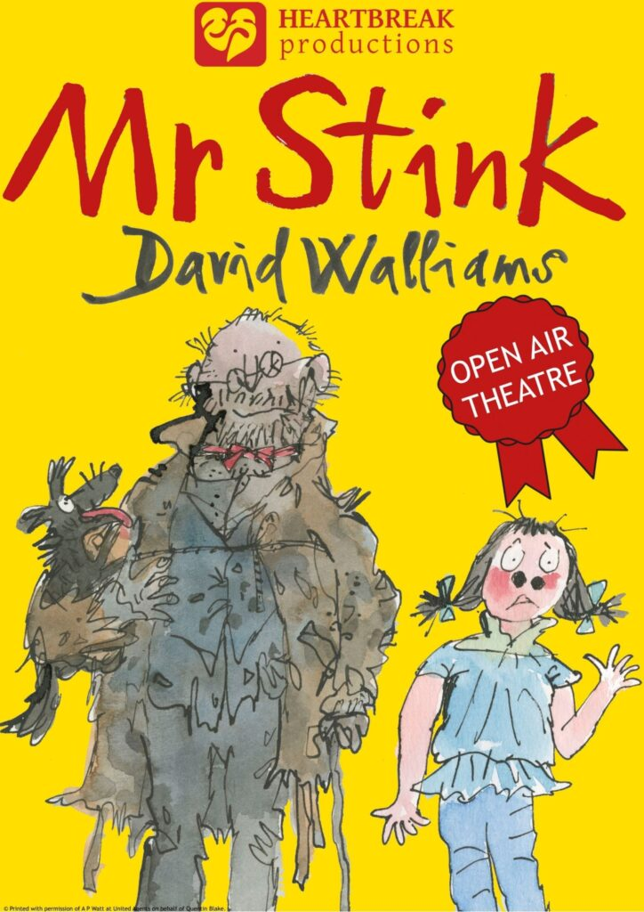 Poster of Mr Stink Outdoor Theatre production