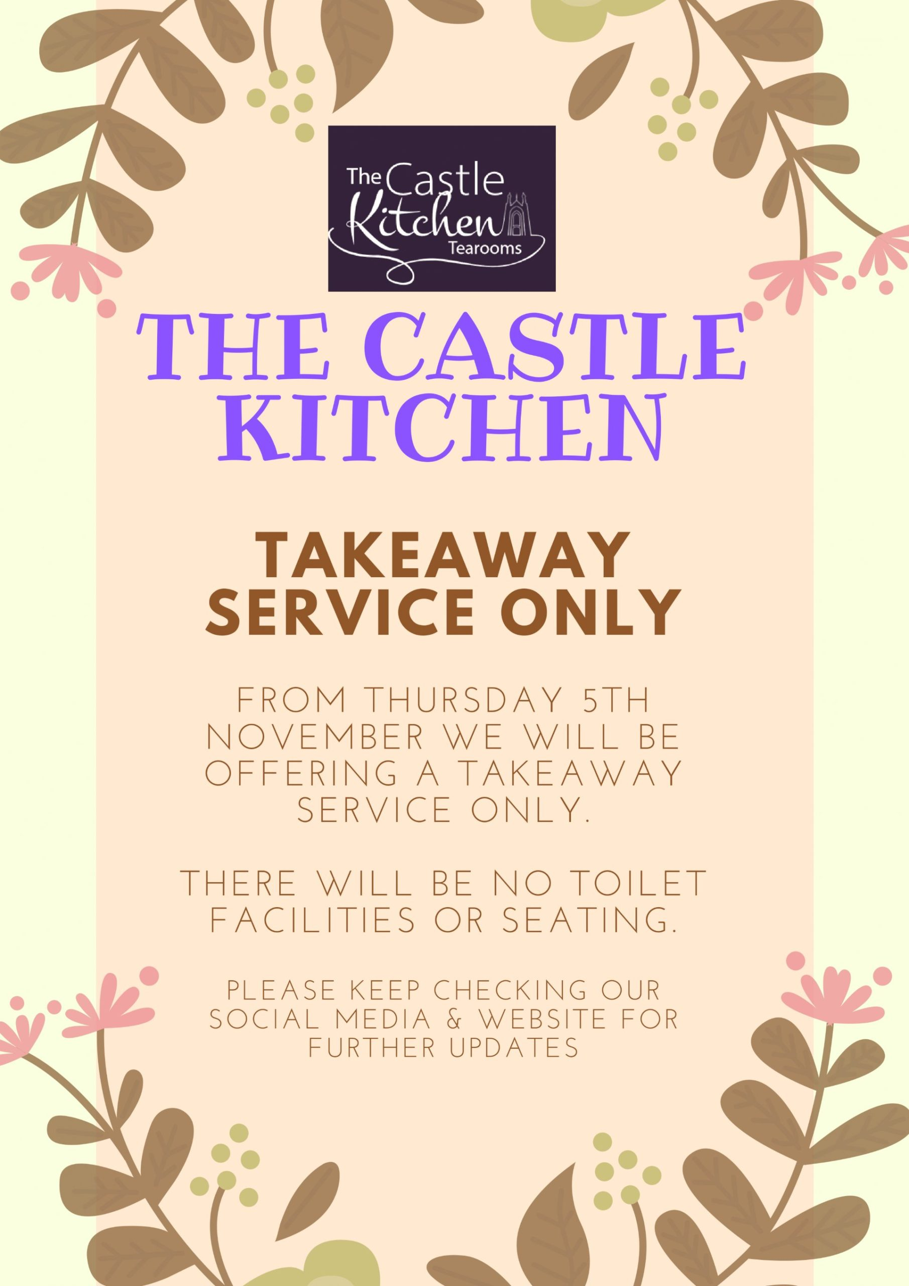 The Castle Kitchen Takeaway Service at Highcliffe Castle