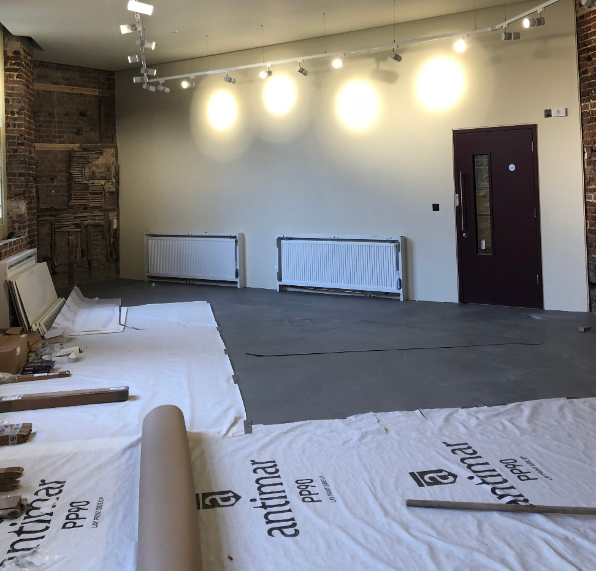 Preparation for new flooring being laid
