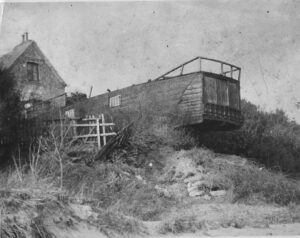 Beached Steamer at Steamer Point, Highcliffe